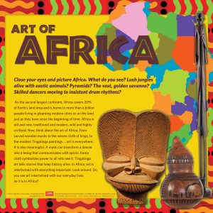 african art activity packet